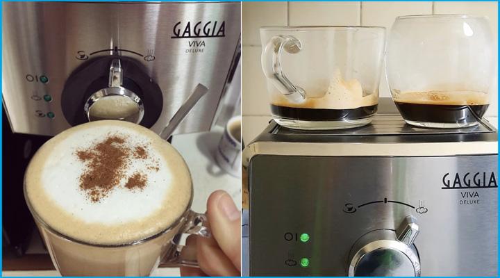 Tổng quan Máy pha cà phê Gaggia Viva Deluxe