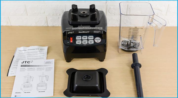 Tổng quan Máy xay sinh tố đa năng Omniblend VTM-800A