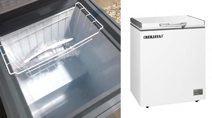 Tổng quan Tủ đông nắp đậy Berjaya BJY-CFSD100A-R6 100 lít