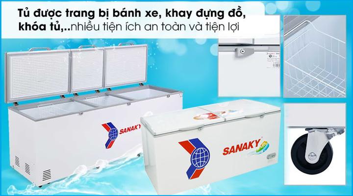 Tủ đông 2 - 3 nắp dỡ Sanaky