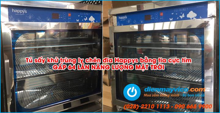 Tủ sấy khử trùng Happys HPS-101C