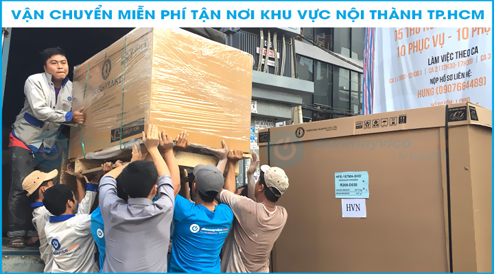 Giao hàng miễn phí tại TpHCM