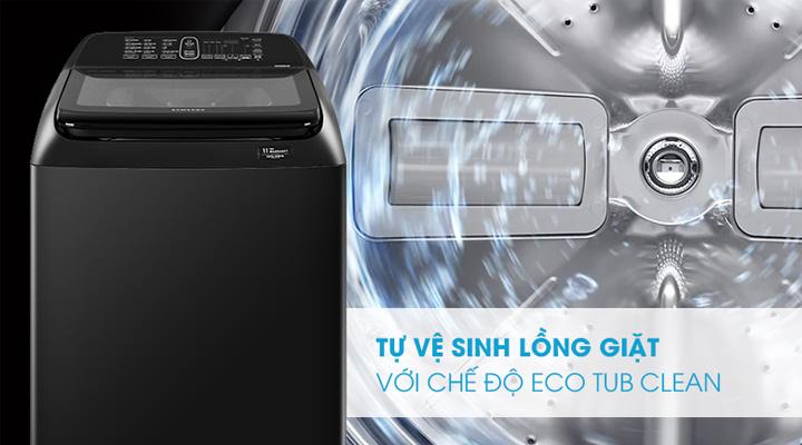 Vệ sinh lồng giặt Máy giặt Samsung Inverter WA-16R6380BV/SV 16 kg