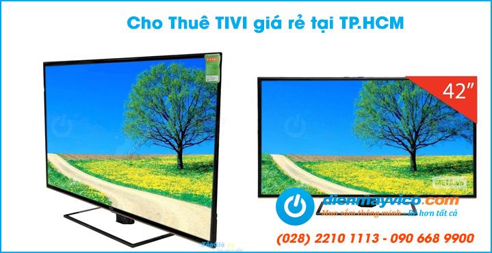 Cho thuê tivi