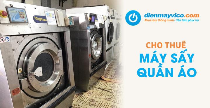Cho thuê máy sấy quần áo
