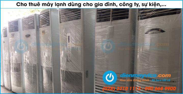 Dịch vụ cho thuê máy lạnh quận 1, quận 3, quận 5 TP. HCM