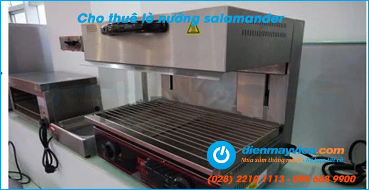 Cho thuê lò nướng Salamanda