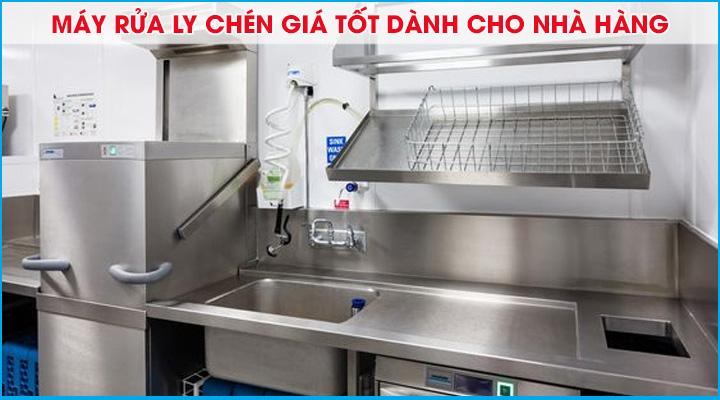 Top 5 máy rửa ly chén giá tốt đáng mua dành cho nhà hàng