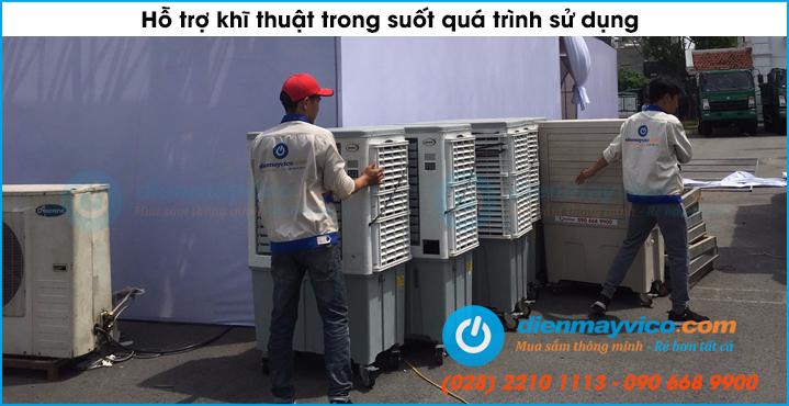 Thuê quạt hơi nước tại Gò Vấp giá cực rẻ