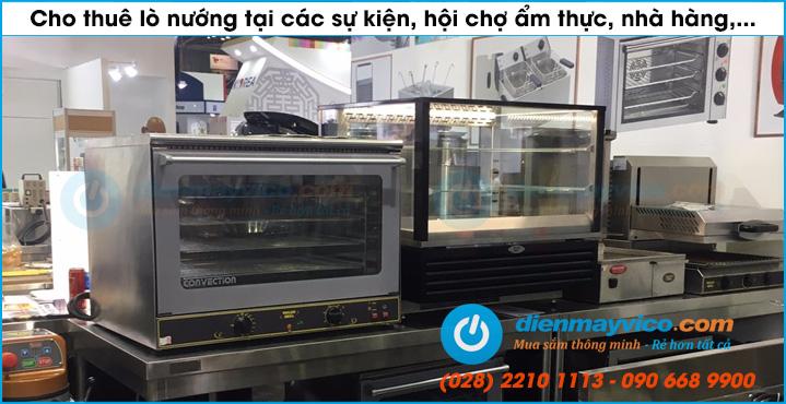Chuyên cho thuê lò nướng bánh tại TP. HCM