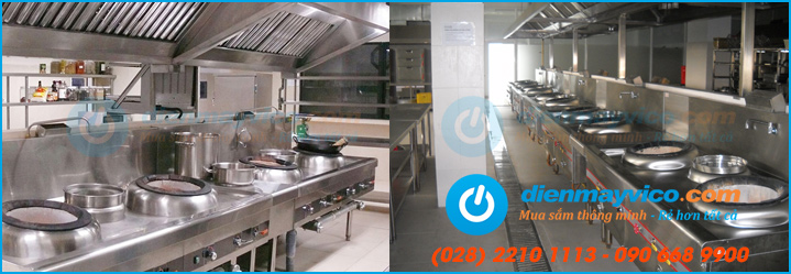 Nhà cung cấp thiết bị bếp nhà hàng số 1 miền Nam