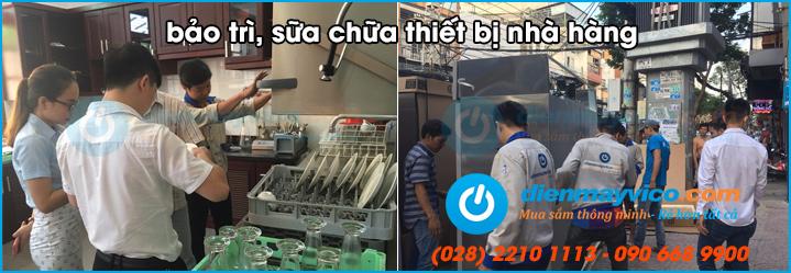 Chuyên bảo trì sửa chữa thiết bị bếp nhà hàng