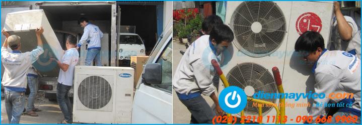 Cho thuê máy lạnh sự kiện 3HP, 5HP, 7HP, 10HP, 20HP