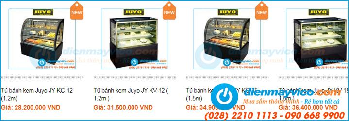 Tủ đựng bánh kem giá bao nhiêu tại TPHCM