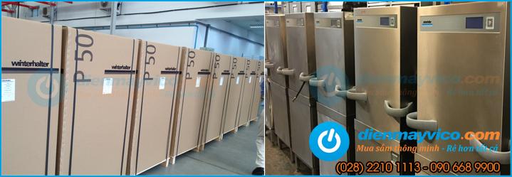 Đại lý cung cấp máy rửa chén, bát tự động, công suất lớn