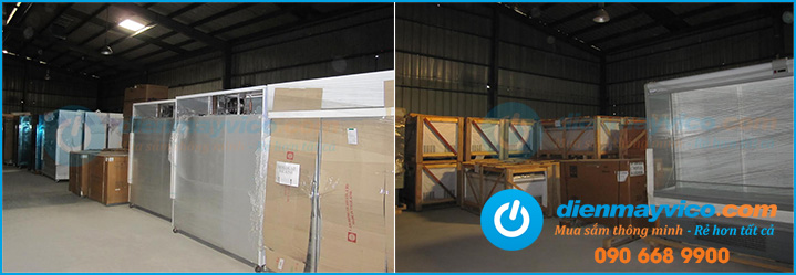 Tủ đông trữ lạnh công nghiệp 2 cánh nhập khẩu giá gốc