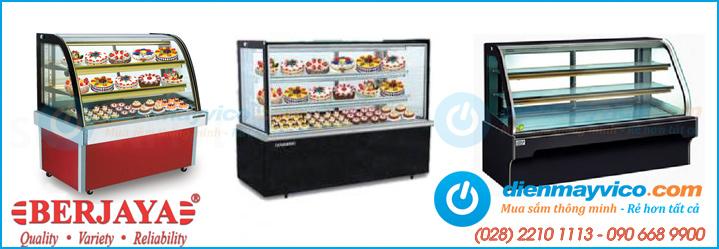 Nhập khẩu, phân phối tủ trưng bày bánh kem giá rẻ