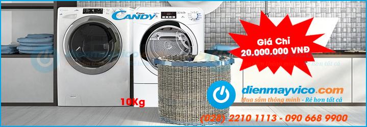 Combo máy giặt, máy sấy tiết kiệm hơn cho tiệm giặt ủi