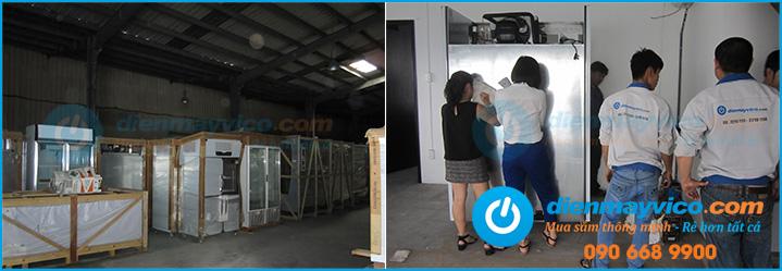 Tủ lạnh công nghiệp giá rẻ - Địa chỉ cung cấp uy tín chất lượng