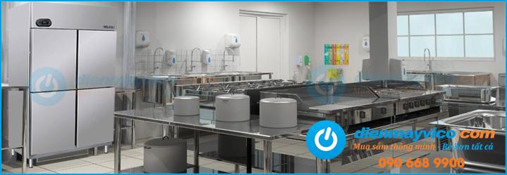 Tủ lạnh công nghiệp 4 cánh chuyên dụng cho nhà hàng