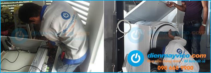 Trung tâm bào hành sửa chữa máy sấy quần áo Electrolux TPHCM