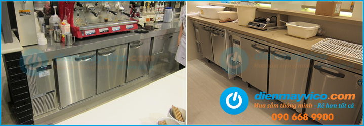 Đại lý cung cấp bàn lạnh nhà hàng nhập khẩu chính hãng