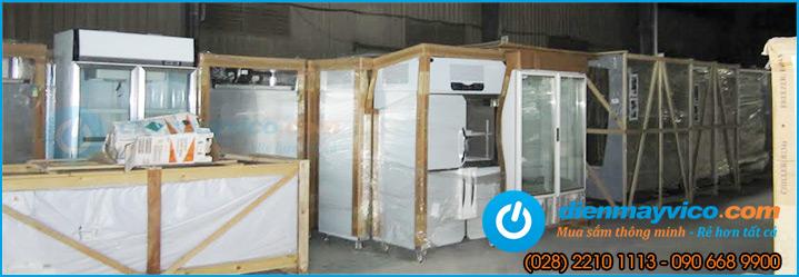 Tổng đại lý nhập khẩu tủ đông công nghiệp vỏ inox