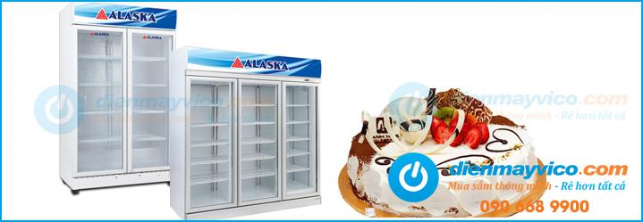 Những mẫu tủ mát đựng bánh kem giá rẻ nhất hiện nay