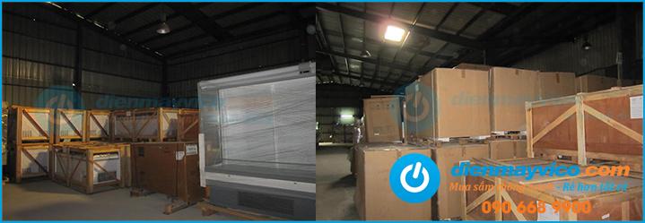 Kho hàng tủ đông, tủ mát thanh lý lớn nhất tại TPHCM