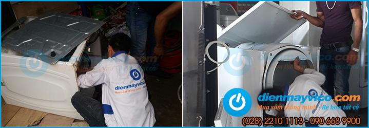 Trạm bảo hành, sửa chữa máy sấy công nghiệp tại TPHCM