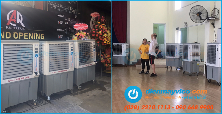 Dịch vụ cho thuê quạt hơi nước công nghiệp giá rẻ TPHCM