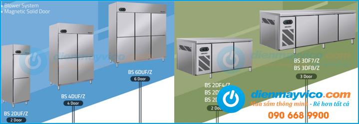 Các dòng tủ lạnh công nghiệp Berjaya cao cấp giá tốt