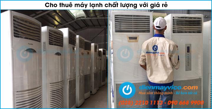 Chuyên cho thuê máy lạnh tại Quận Gò Vấp và Quận 12