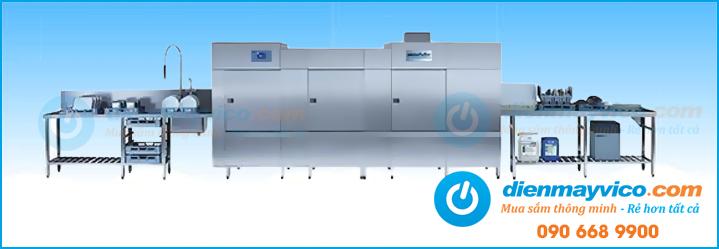 Máy rửa chén công nghiệp nhập khẩu giá rẻ