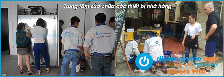 Bảo trì, sửa chữa máy rửa chén công nghiệp