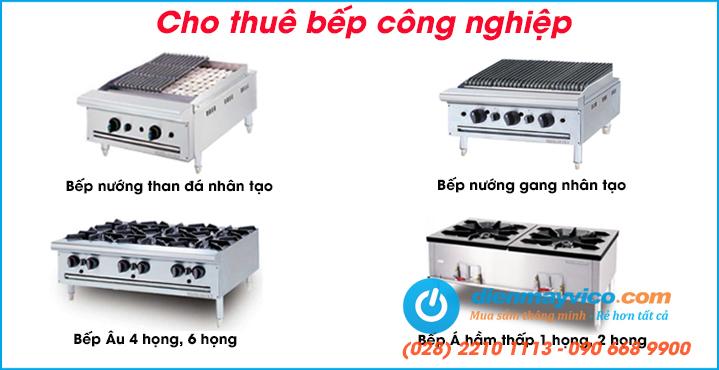 Cho thuê bếp công nghiệp