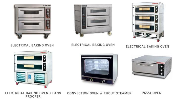 Các loại lò nướng công nghiệp dùng cho nhà hàng