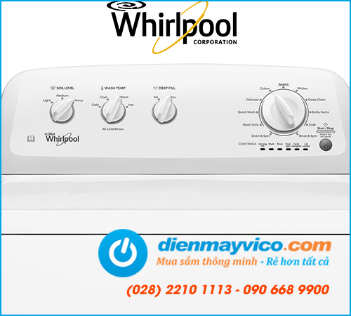 Máy giặt Whirlpool 3LWTW4705FW 15Kg