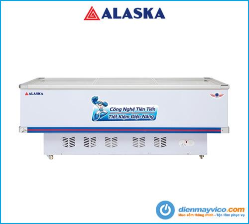 Tủ đông kính phẳng Alaska SD-9W 900 Lít