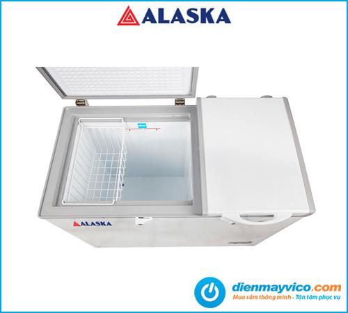 Tủ đông mát Alaska BCD-3571 210 Lít