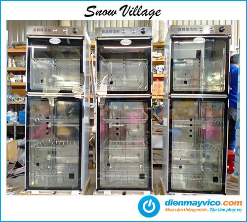 Tủ sấy chén Snow Village 308L - 2 cửa mở trên dưới