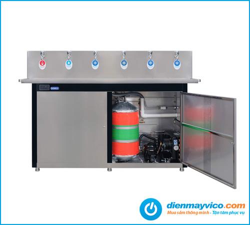 Máy lọc nước uống DAD-6D 6 vòi: 4 vòi Lạnh, 1 vòi Tinh khiết, 1 vòi nóng