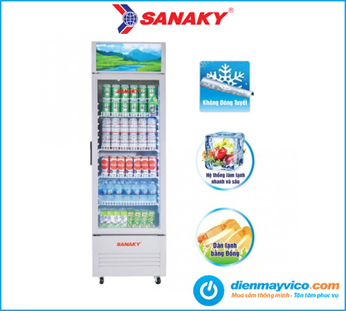 Tủ mát Sanaky VH-309KL 240 Lít