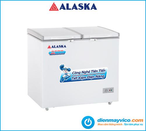 Tủ đông mát Alaska BCD-3067N 250 Lít