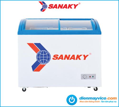 Tủ đông kính cong Sanaky VH-282K 211 Lít