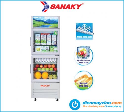 Tủ mát Sanaky VH-218WL 170 Lít