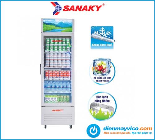 Tủ mát Sanaky VH-218KL 170 Lít