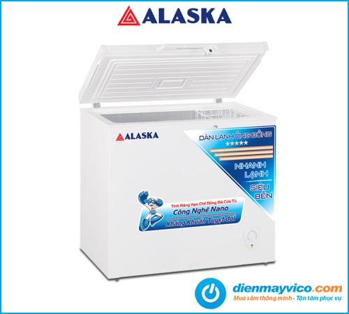 Tủ đông Alaska BD-300C 205 Lít