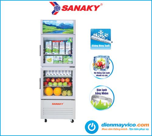 Tủ mát Sanaky VH-258WL 200 Lít