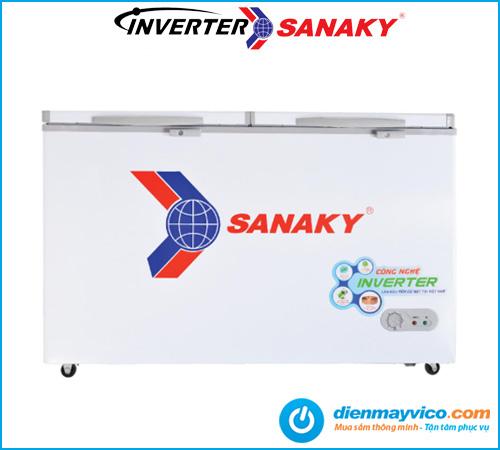 Tủ đông mát Sanaky VH-6699W3 Inverter 485 lít giá tốt